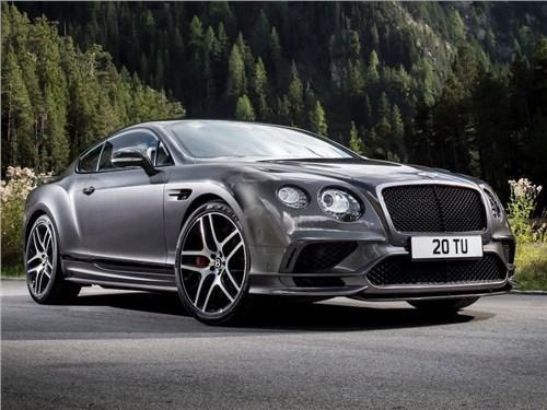 Bentley вновь представил свой самый мощный автомобиль