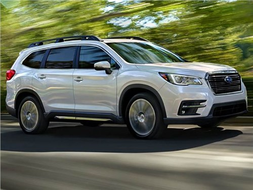 Новость про Subaru Ascent - Subaru Ascent 2018