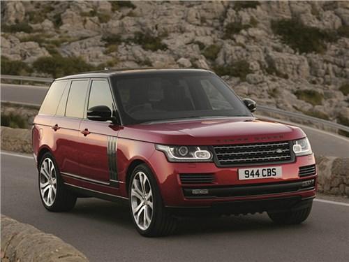 Land Rover продемонстрировал обновленную версию флагманского внедорожника