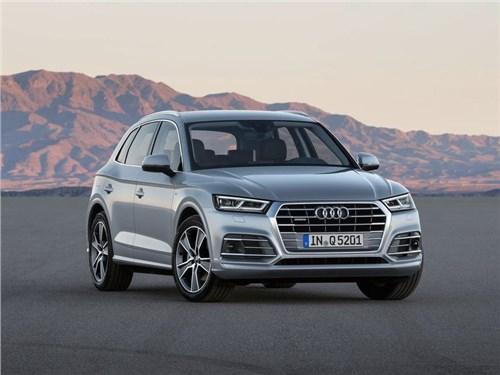 Audi анонсировала появление нового поколения Q5 на российском рынке
