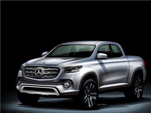 Новость про Mercedes-Benz - Пикап Mercedes-Benz выйдет на российский рынок в конце 2017 года
