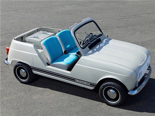 Новость про Renault - Renault построила концепт из 51-летнего кабриолета