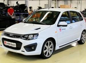 «АвтоВАЗ» опубликовал стоимость новой Lada Kalina Sport