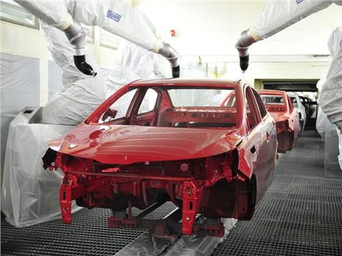 Новость про KIA Cerato - На «Автоторе» стартовало серийное производство обновленной Kia Cerato