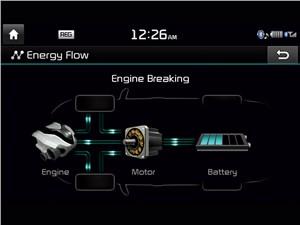 Предпросмотр kia optima hybrid 2014 монитор