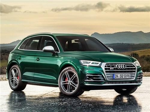 Новость про Audi - Audi Q5 стал гибридом