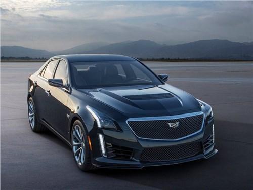 Новость про Cadillac CTS-V - Cadillac привез в Россию «горячую» версию седана CTS