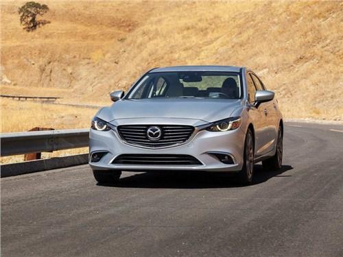Mazda анонсировала появление в России обновленной «6-ой» модели