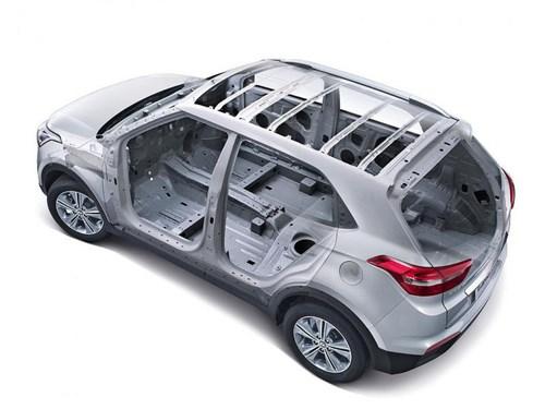 В Петербурге компания Hyundai продемонстрировала тестовую версию кроссовера Creta