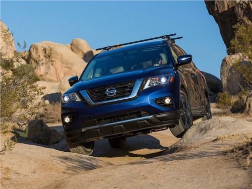 Новость про Nissan Pathfinder - Nissan рассекретил обновленную версию кроссовера Pathfinder