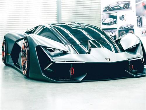 Lamborghini представила суперкар следующего тысячелетия