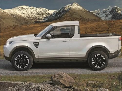 Land Rover сделает конкурента Mercedes-Benz X-класса