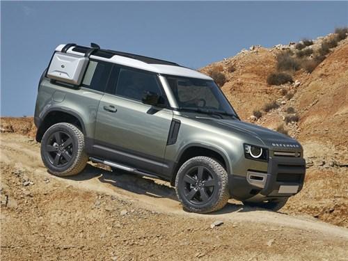 Land Rover Defender станет пикапом
