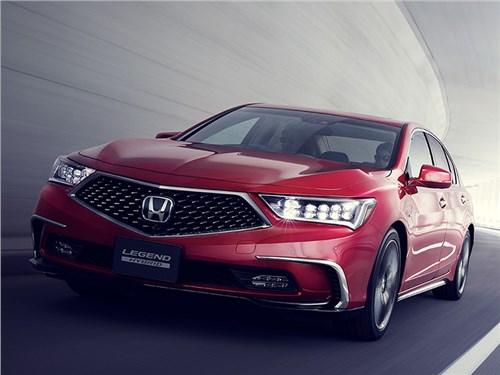 Новость про Honda - Новая Honda Legend станет беспилотником