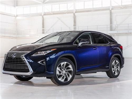 Трехрядный Lexus RX не получит удлиненную колесную базу