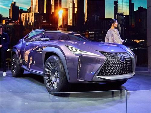 Lexus представит самый маленький кроссовер в марте
