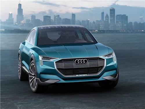 Новость про Audi - Audi разработает три серийных электрокара за следующие четыре года