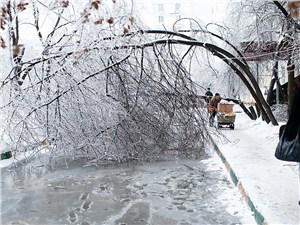 В Москву идет «ледяной» дождь