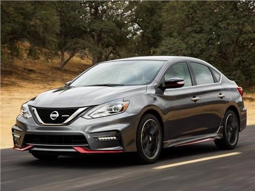 Nissan продемонстрировал «горячую» версию седана Sentra