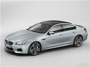Новость про BMW M6 - BMW M6 Gran Coupe 2013 вид сбоку