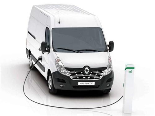 Renault привез в Брюссель два новых электрических LCV
