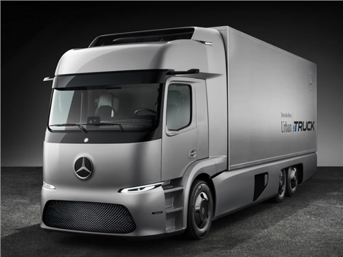 Mercedes-Benz запустит в серию свой электрический грузовик