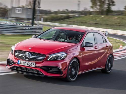 Новость про Mercedes-Benz A-Class - Mercedes-AMG A45