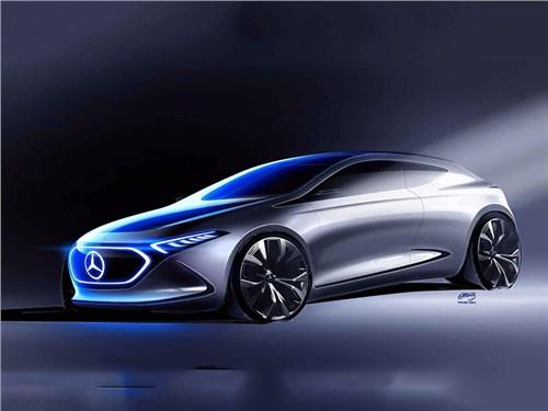 Новость про Mercedes-Benz - EQ A