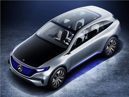 Новость про Mercedes-Benz - Generation EQ