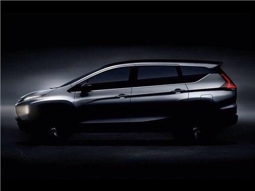 Mitsubishi показала силуэт новой модели