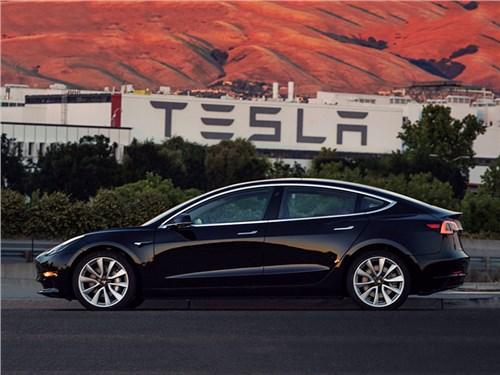 Tesla начала производство Model 3
