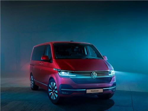 Volkswagen раскрыл даты дебюта нового Multivan