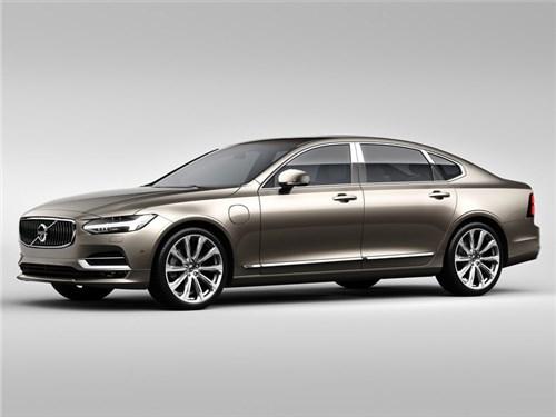 Новость про Volvo S90 - Volvo рассекретила свой самый дорогой седан