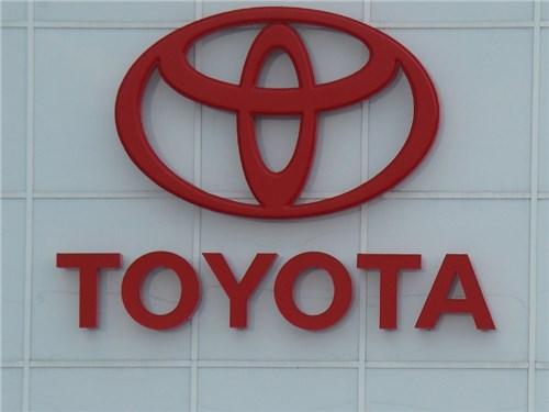 Продажи Toyota Group на российском рынке в ноябре выросли на 9,4 процента