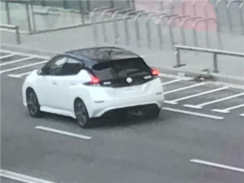 Электромобиль Nissan для России впервые сняли без камуфляжа