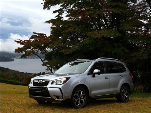 Объем российских продаж Subaru в I-ом полугодии сократился на 19 процентов
