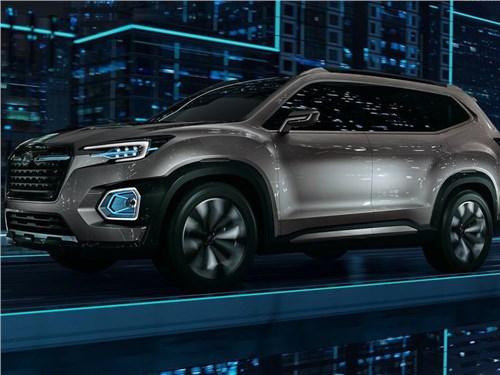 Subaru разработала прототип своего самого большого автомобиля