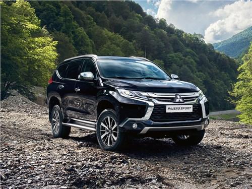 Mitsubishi расширит моторную гамму российской версии Pajero Sport