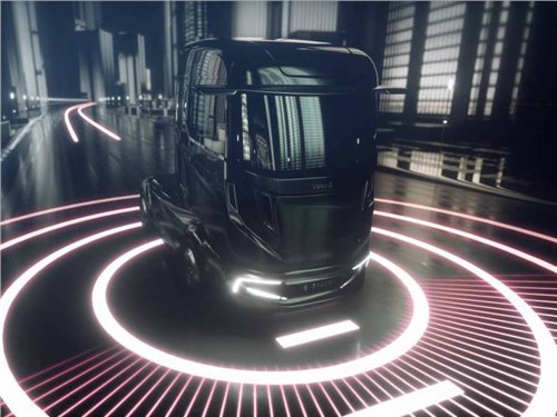 Bosch представил концептуальный грузовик VisionX