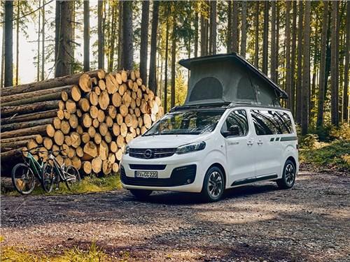 В Opel представили конкурента Volkswagen California