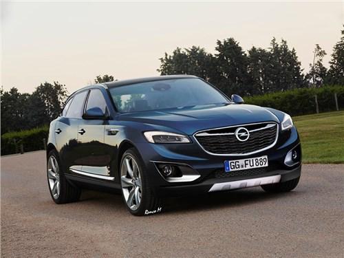 У Opel появится большой кроссовер