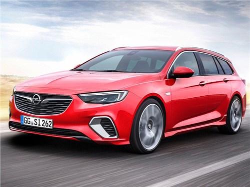 Новость про Opel Insignia - Opel Insignia Sports Tourer GSi