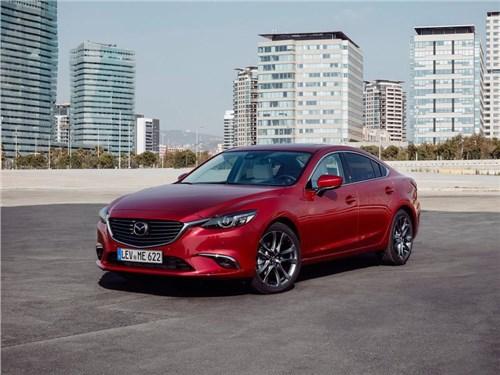 Mazda объявила российские цены на обновленную «6-ую» модель