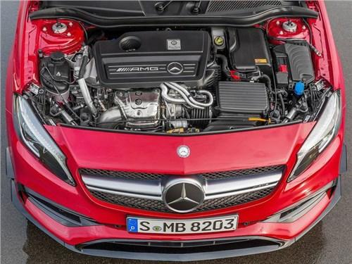 Появились новые подробности об устройстве нового Mercedes-AMG A45