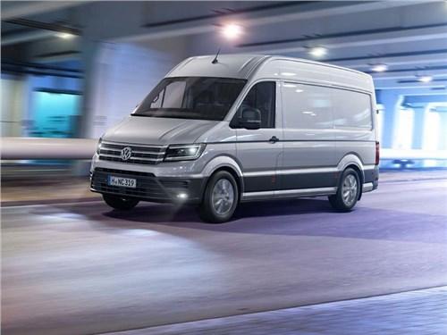 Volkswagen показал новое поколение фургона Crafter