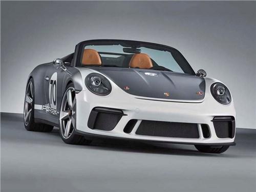 Porsche готовит очень быстрый родстер