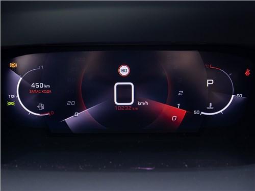 Peugeot 2008 (2020) приборная панель