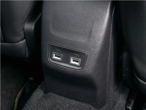 Peugeot 2008 (2020) розетки USB