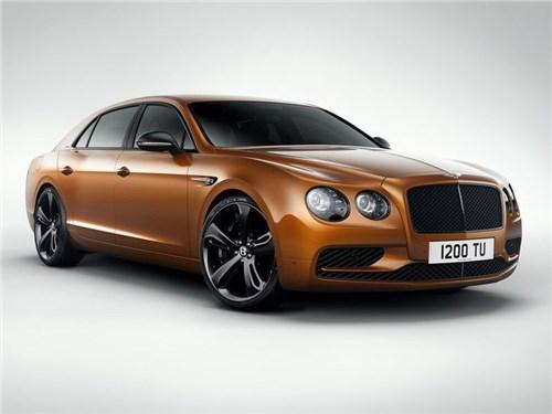 Bentley выводит на российский рынок свой самый мощный седан