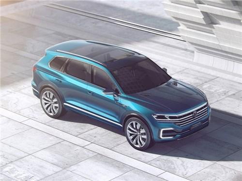 Новость про Volkswagen Touareg - Volkswagen назвал дату премьеры нового поколения Touareg